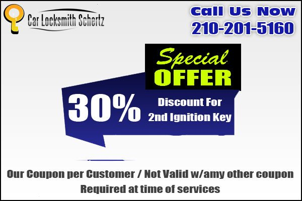 Car Locksmith Schertz Coupon
